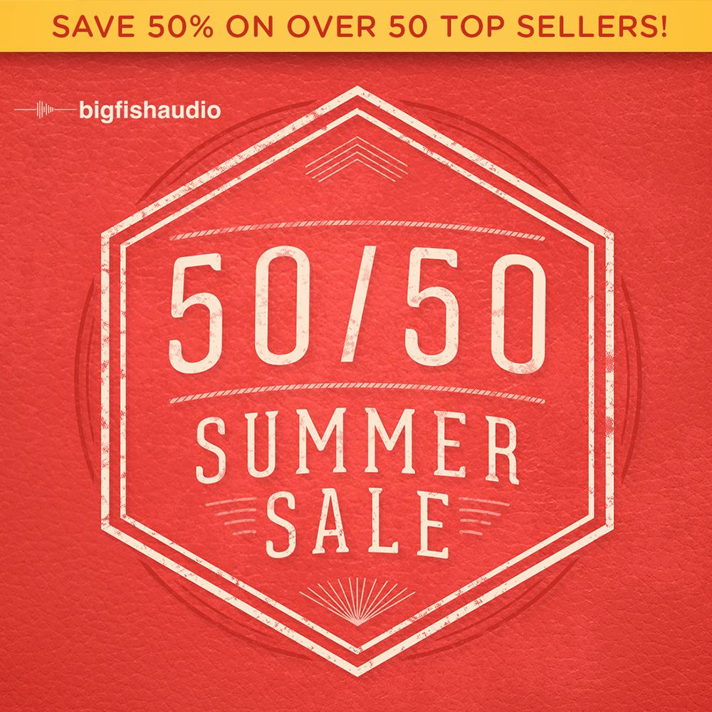 50/50 Summer Sale
