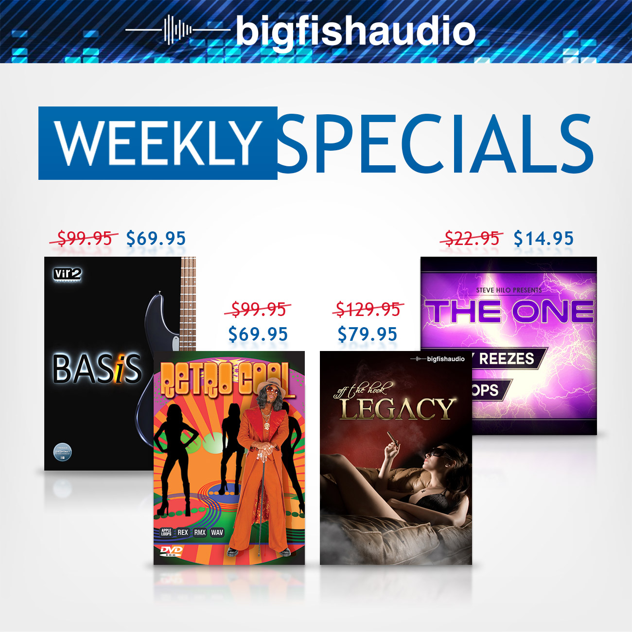 Big Fish Audio Weekly Specials Nov 30 2017
