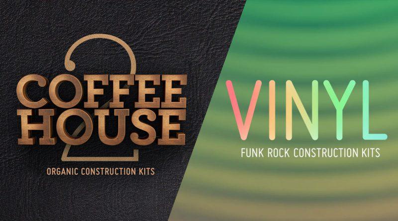 Coffeehouse 2: Organic Construction Kits & Vinyl: Funk Rock Construction Kits