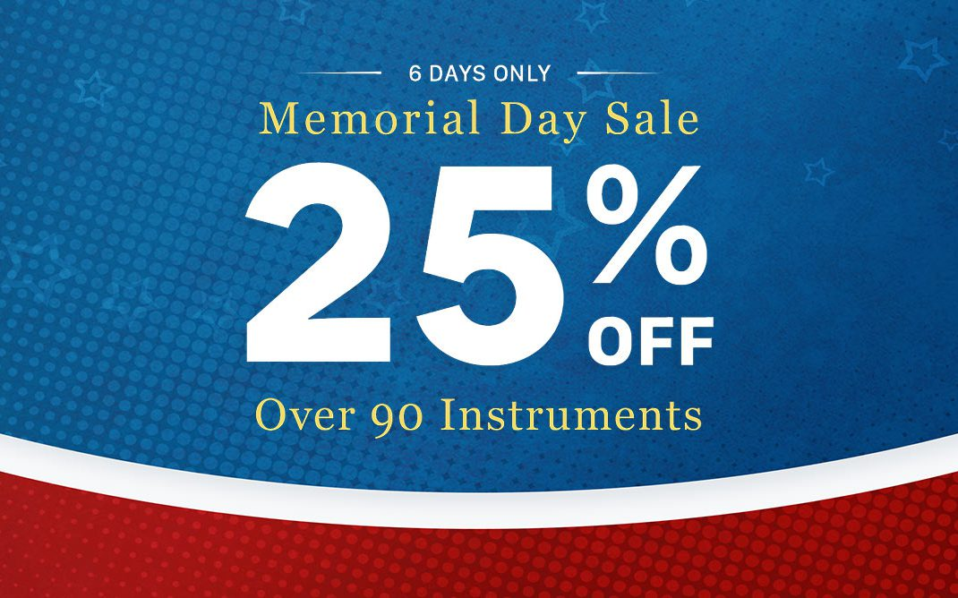Big Fish Audio Memorial Day Sale