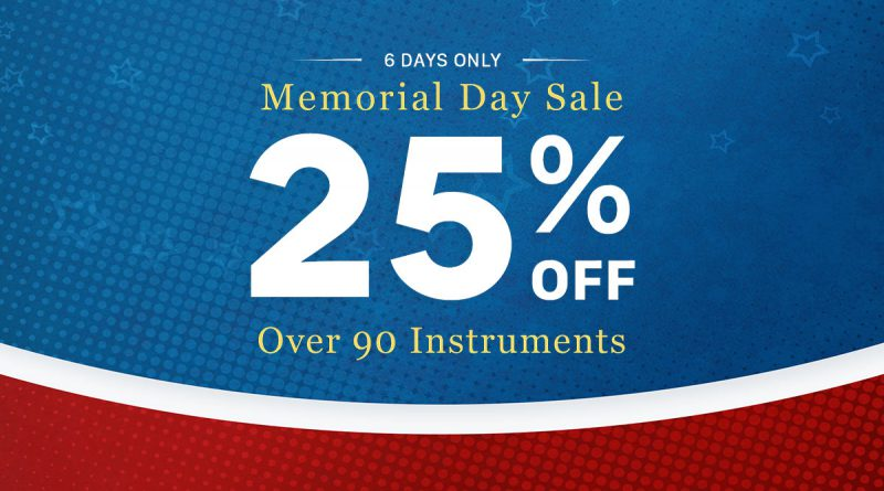 Big Fish Audio Memorial Day Sale