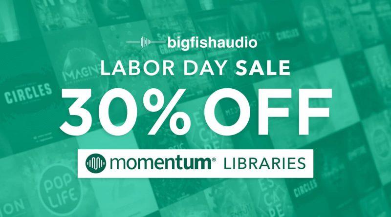 Big Fish Audio Labor Day Momentum Sale